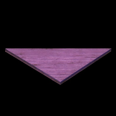 Building Block: Pink Glowing Triangle   Rift Dimension Addicts
